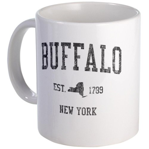 Buffalo Ny Black Mug Mug By Cafepress
