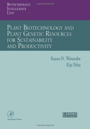 Plant Biotechnology and Plant Genetic Resources for Sustainability and Productivity (Biotechnology Intelligence Unit)