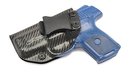 Concealment Express IWB KYDEX Holster: fits Ruger SR9C (Carbon Fiber Black - Left Hand) (Black Carbon Fiber Kydex compare prices)
