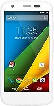 Motorola G 4G Smartphone débloqué 4G (Ecran: 4.5 pouces - 8 Go - Android 4.4 KitKat - MicroSD) Blanc