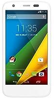 Motorola G Moto 4G Smartphone débloqué 4G (Ecran: 4.5 pouces - 8 Go - Android 4.4 KitKat - MicroSD) Blanc
