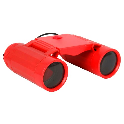 Mini Children Binoculars Telescopes Compatible With Kids Red