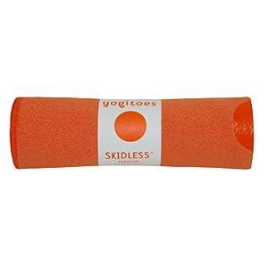 Yogitoes Skidless Premium Hand Size Towel (Orange)