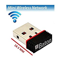 iBall Baton 150M Wireless-N Mini USB Adapter (iB-WUA 150NM)