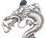 Giant Bearded Dragon Pewter Pendant Necklace