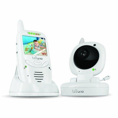 Levana Jena Digital Baby Video Monitor and Talk to Baby Intercom