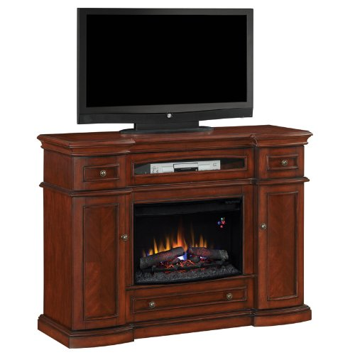 Montgomery Media Mantel in Vintage Cherry 26MM2490-C233 MANTEL ONLY image B00723YNOC.jpg