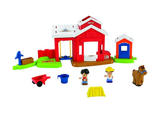 Fisher-Price Little People Horse Stable - 1