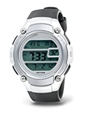 Round Face Water Resistant Digital Watch