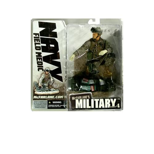 Military Series 4 > Navy Field Medic (Asian-American) Action Figure