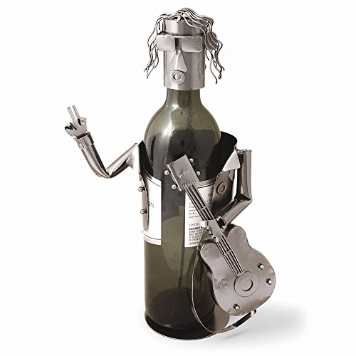Jewelry Best Seller Guitarist Metal Wine Caddy