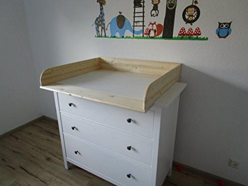 wickelaufsatz 13 cm hoch f r ikea hemnes kommode. Black Bedroom Furniture Sets. Home Design Ideas