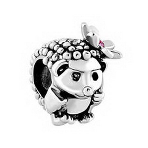 [Dan Smatree The Beads Pugster Hedgehog Girl in Stock Ships from CA European Charm Bead] (In Stock Hip Hop Costumes)