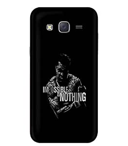 Fonokart Premium Samsung Galaxy On7 Pro Inspirational Quote Designer 3D Printed Matte Finish Slim Unique High Quality Case Slim Lightweight Back Cover Hard Case