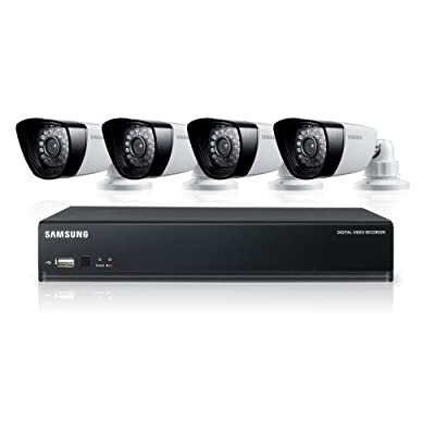 Samsung SDS-P3040 4 Channel DVR Security System