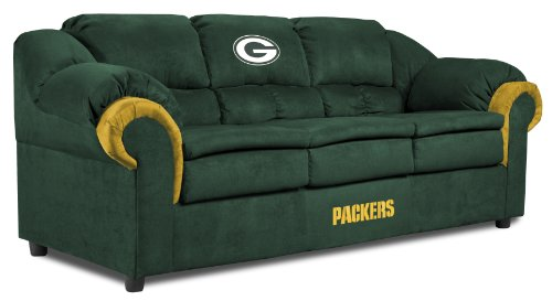 NFL Green Bay Packers Pub Sofa