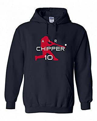 "Chipper Jones Atlanta Braves ""Air Chipper"" Hooded Sweatshirt"