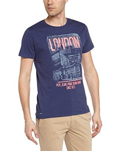 Pepe Jeans London Longsleeve Warren [Blu Scuro]