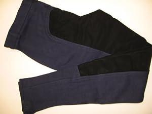 PFIFF Kinder Vollbesatzreithose, blau-schwarz, 152, 101197-138-152