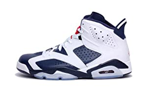 NIKE AIR JORDAN 6 RETRO WHITE 384664-130