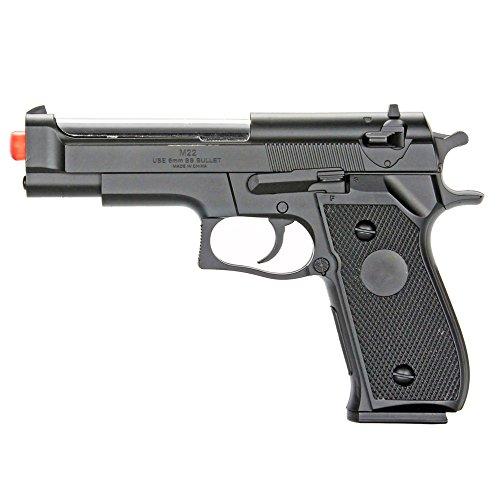 BBTac Airsoft Pistol BT-M22 Spring Loaded Gun Airsoft Handgun, High Power 300 FPS (Bb Gun Pistol Glock compare prices)
