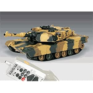 M1A2 ABRAMS Iraq War Tank RC US Battle Tank Radio Controlled 1/24 Airsoft Panzer Marui OEM version
