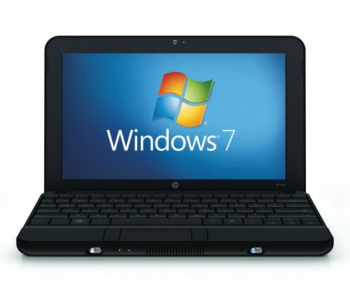 HP Mini 110-1115SA Black 10.1-inch Netbook (Windows 7 Starter, Intel Atom Processor N270, 1 GB RAM, 160 GB SATA Hard Disk Drive, Wireless, Bluetooth, 6 Cell Battery up to 6 Hours Life)