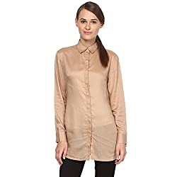 Annapoliss Women's Shirts (ANWH11_Brown_Medium)