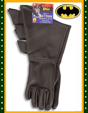 Buy Adult's Vintage Batman Prop Costume Gauntlet Gloves
