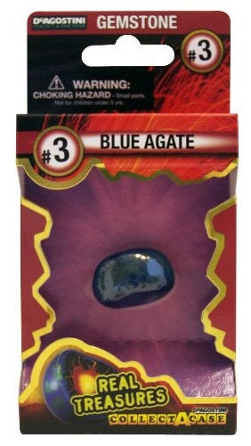 Blue Agate Gemstone - 1
