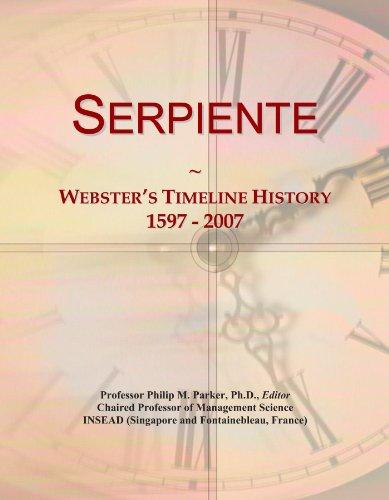 serpiente-websters-timeline-history-1597-2007