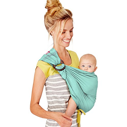 Mamaway Baby Sling Carrier - Vintage Collection - Comfortable for Your Baby - Breastfeeding Privacy - One Size Fits All - Easy On Your Back - Boy Blue