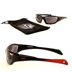 New NFL QUAKE Style KIDS WITH Sunglass Bag-Kansas City Chiefs SunGlasses- COOL...