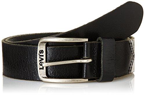 Levi's Classic Top Logo Buckle, Cintura Uomo, Nero (Black), 90 cm (Taglia Produttore: 90)