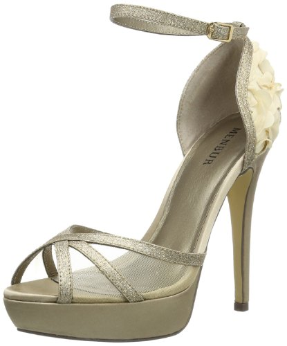Menbur Womens 57420A87 Fashion Sandals 05742X787 Stone 4 UK, 37 EU