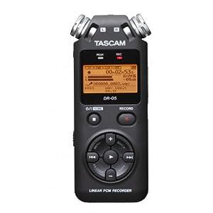 TASCAM リニアPCMレコーダー ブラック DR-05