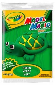 Crayola Model Magic Modeling Compound, Green, 4 Oz. Pouch; no. BIN4444