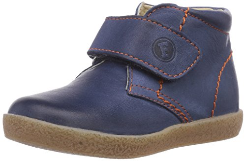 Naturino FALCOTTO 246, Sneaker per neonati bambino, Multicolore (Mehrfarbig (NAVY CUC. OCRA)), 21