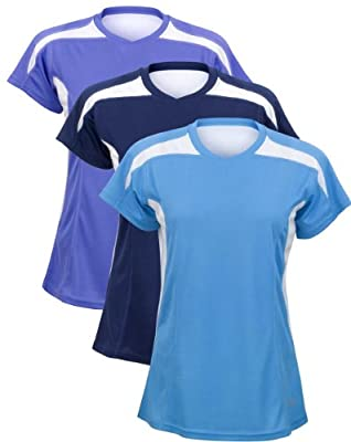 Time To Run Women's Velocity Short Sleeve Running T Shirt Top by Time To Run