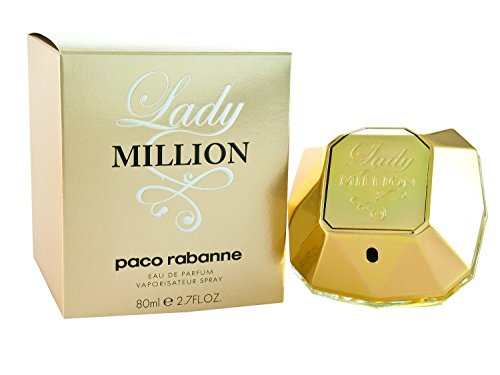 Paco Rabanne - Eau de Parfum Lady Million di Paco Rabanne, spray, 80 ml, da donna