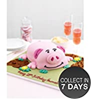 Percy Pig Cake