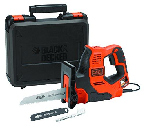 Comparamus black decker bdcdd12kb qw visseuse sans fil avec 2 batteries et coffret 10 8 v - Scie electrique black et decker ...