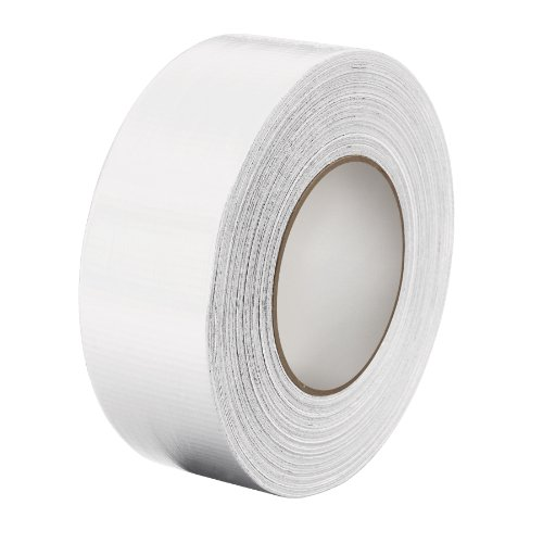3M Multi-Purpose Duct Tape 3900 White, 48 Mm X 54.8 M 7.7 Mil, Conveniently Packaged (Pack Of 1)