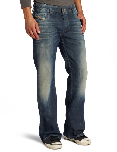 Diesel - Mens Zathan 805U Denim Jeans, Size: 30W x 32L, Color: Denim