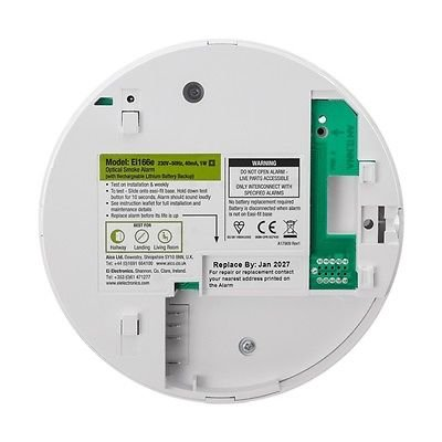 aico optical smoke alarm mains powered with lithium back up radiolink fro. Black Bedroom Furniture Sets. Home Design Ideas