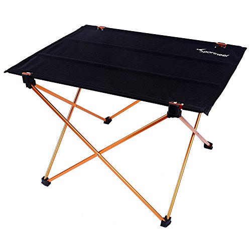 Sportneer Portable Lightweight Folding Camping Hiking Picnic Table (Camping Cooking Table compare prices)