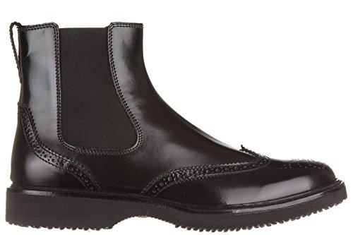 Hogan stivaletti stivali uomo pelle h217 route elastico nero EU 43 HXM2170M1806Q6B999