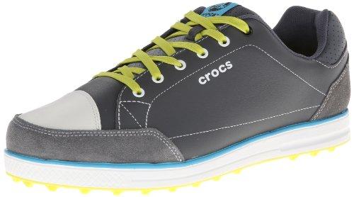 crocs-scarpe-da-golf-uomo-carbone-agrume-75-uk-41-eu
