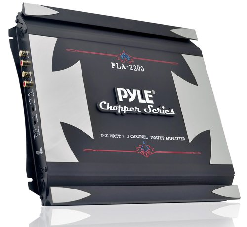 Pyle PLA2200 1400W 2 Channel Bridgeable Mosfet Amplifier Black Friday & Cyber Monday 2014
