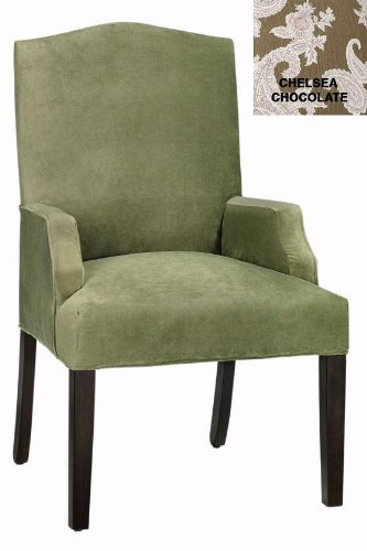 Buy Low Price Home Decorators Collection Camel back Dining Chair, DINING, CHELSEA CHCOLAT (B003Z8XV96)